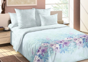 Комплект постельного белья семейный сатин Вечная весна