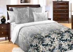Комплект постельного белья семейный сатин Екатерина