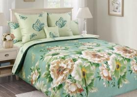 Комплект постельного белья евро mini сатин Каролина