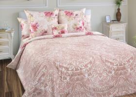 Комплект постельного белья евро сатин Даниэлла 5