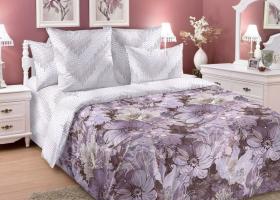 Комплект постельного белья семейный сатин Блум