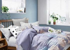 Комплект постельного белья семейный сатин Домиани