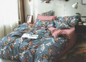Комплект постельного белья евро сатин №2119