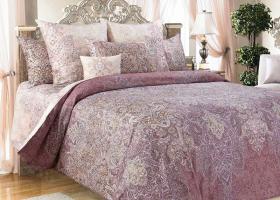 Комплект постельного белья семейный сатин Пачули