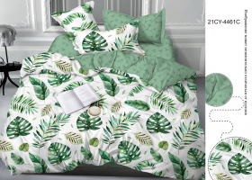 Комплект постельного белья евро сатин 446121