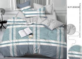 Комплект постельного белья евро сатин 9