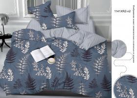 Комплект постельного белья евро сатин 1141