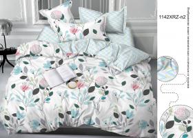Комплект постельного белья евро сатин 1142