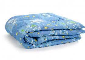 Одеяло ватное 2сп эконом пакет