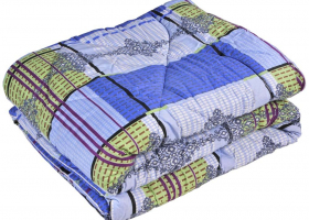 Одеяло ватное 1,5сп в бязи пакет